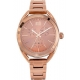 VISETTI Ornella Multifunction Rose Gold Stainless Steel Bracelet TI-794RK