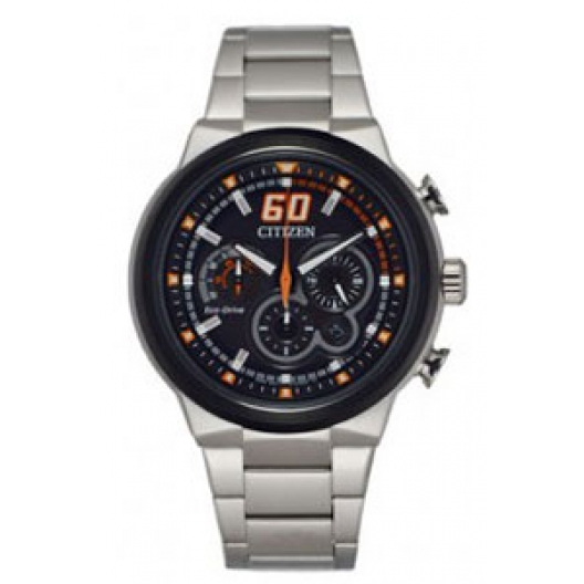 Citizen Eco-Drive Solar Stainless Steel Chronograph CA4134-55E