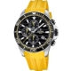 Ανδρικά Ρολόγια FESTINA Tour of Britain 2018 Chronograph - F20370/2 Yellow Rubber Strap