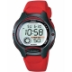 Ρολόι Casio Watch  Digital Red Rubber Strap LW-200-4AVES