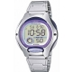 Ρολόι  Casio Digital Watch silver Bracelet  lw-200d-6avef