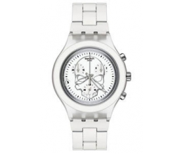 Swatch Irony Watch Full-Blooded White Skull Model SVCW4000AG e1afeba38c1