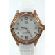 Visetti Ladies watch rose gold case leather strap pe-wsw717rg