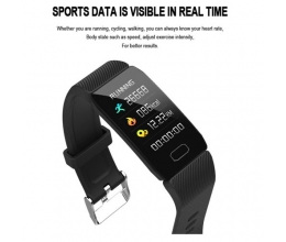 Smartband Heart Rate Blood Pressure Detection Fitness Pedometer Step Counter